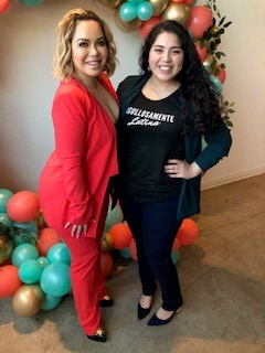 Chiquis and I at the Conchitas + Capital Event